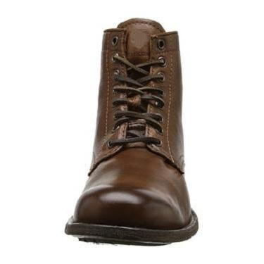 Handmade Men Lace Up Vintage Brown ..