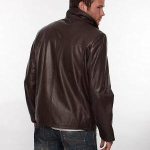 Men REAL leather jacket, real leath..