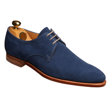 Handmade Men Navy Blue Suede Formal Shoes, Men Suede Dress Shoes ...