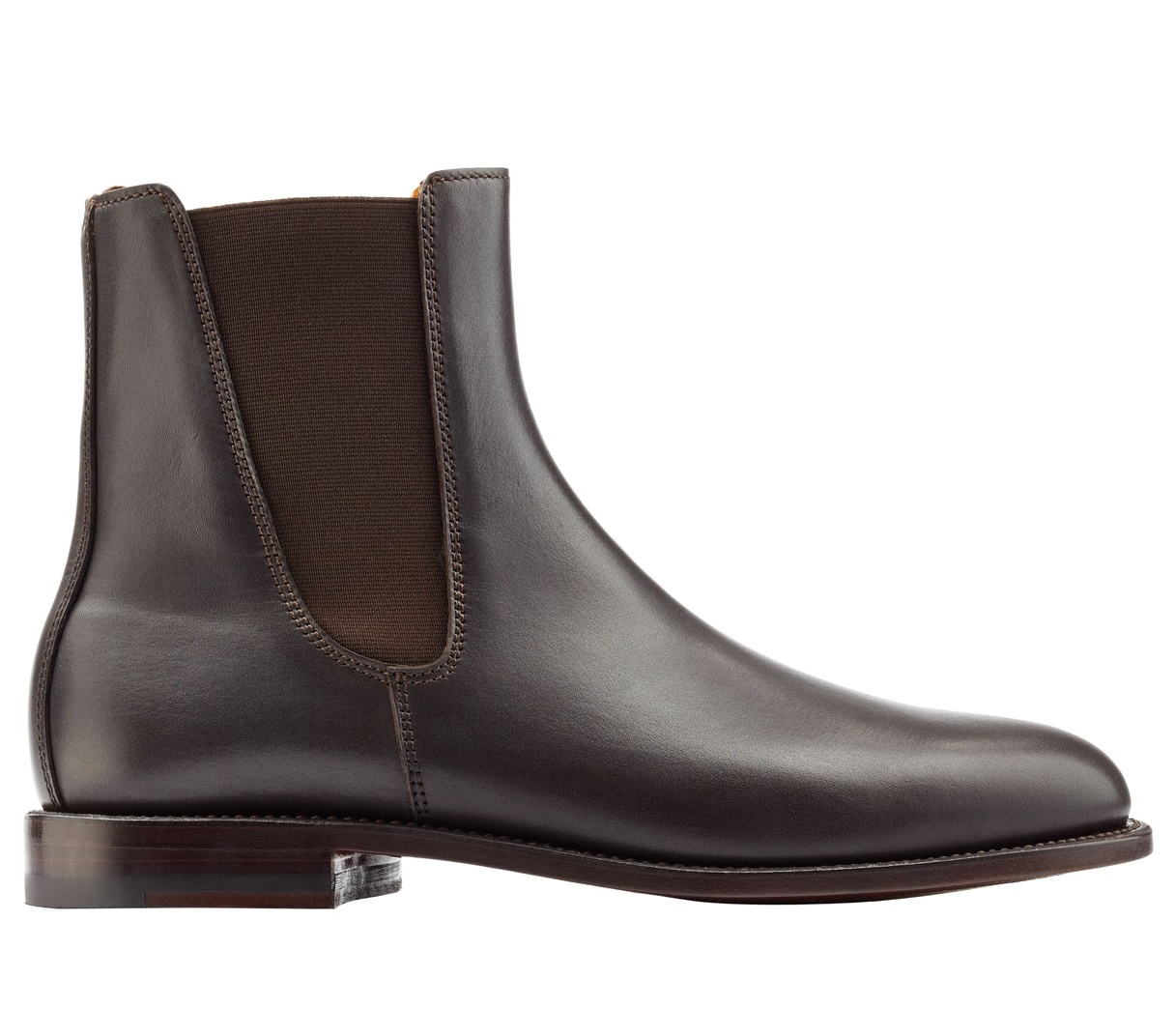Handmade Chelsea Boots, Men Genuine Leather Chelsea Boot, Mens ...