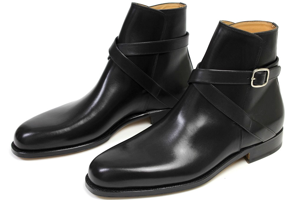 Handmade Men Monk Strap Ankle Boot, Men Ankle Boots, Men Ankle ...