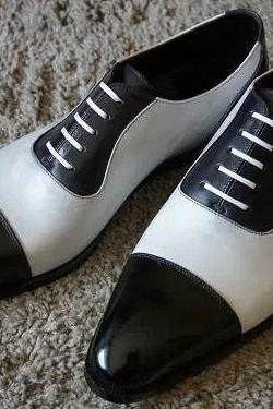 Men Spectator Shoes, Men Black And White Formal Shoes, Mens Dress Shoes