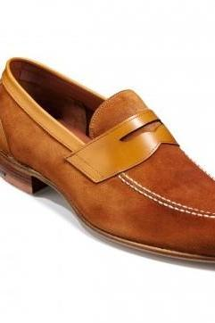 Men Camel suede moccasins shoes, Men dress shoes, Men genuine suede formal shoes