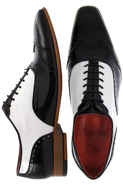 Handcrafted Men Fashion Black And White Dress Shoes, Men Handmade wingtip Formal Shoes