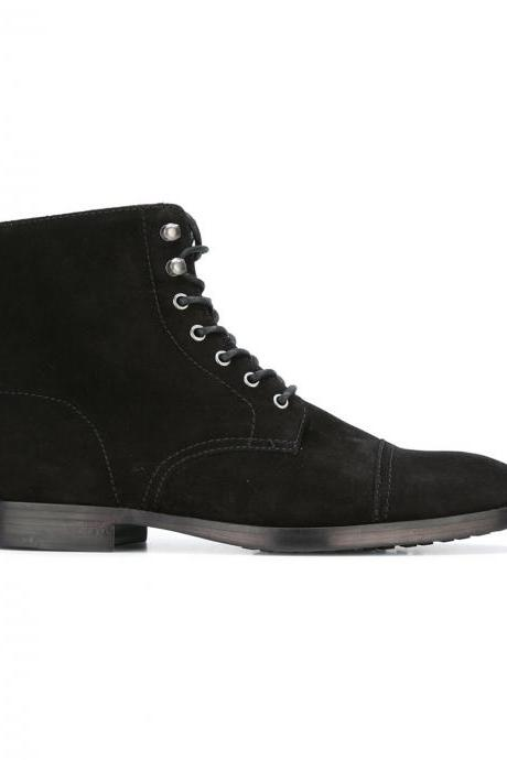Men's Classic Suede Ankle Boots
