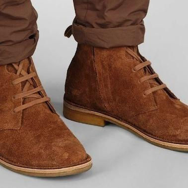 Handmade Mens Chelsea Suede Leather Boots Mens Brown Chelsea