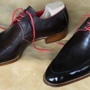 Handmade Mens Formal Shoes, Mens Fashion Black Dress Shoes, Mens Tuxedo Shoes