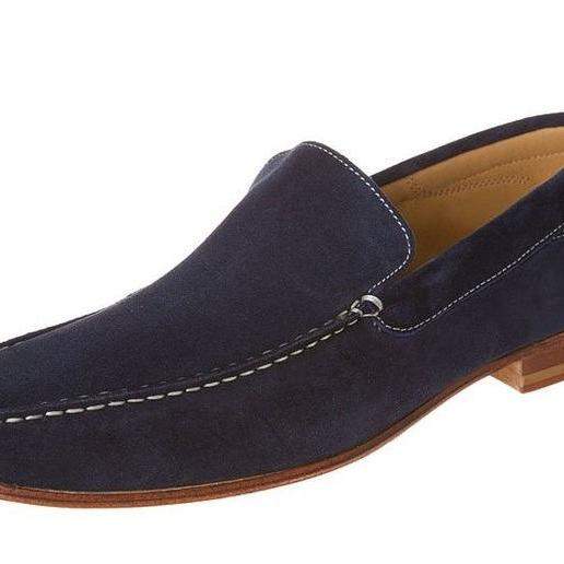 Custom Made Suede Loafers for Men